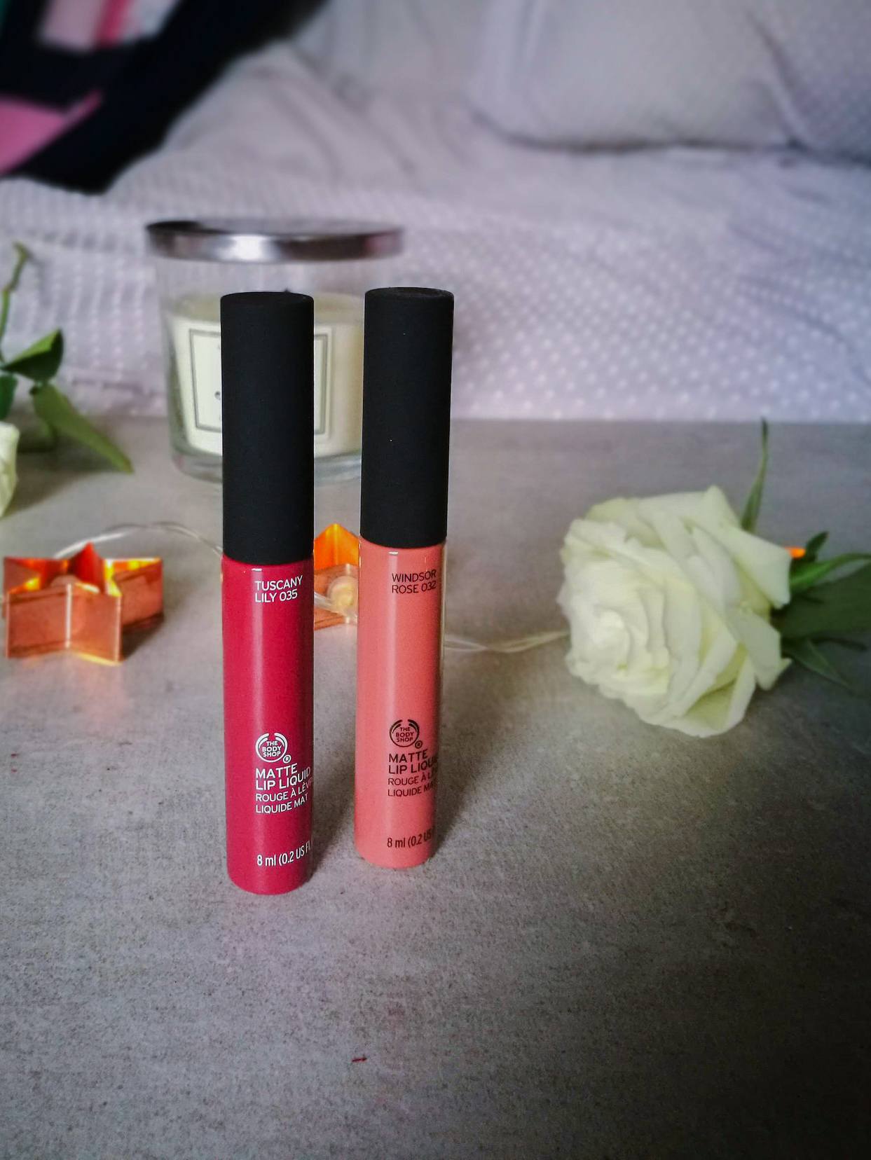 Flowers Rose Lily Lipstick Review